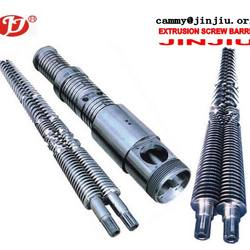 SJSZ series 65/132 conical double/twin barrel screw used for plastic and rubber machine