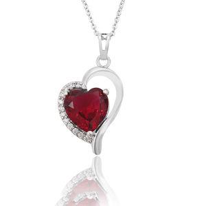 32710 Xuping heart pendant, crystal custom pendant, wholesale jewelry lots white gold pendant