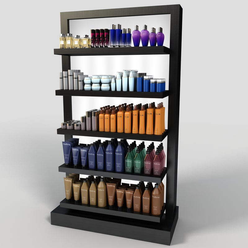 Cabinet Mall Rack Shop Countertop Craft Show Cosmetic Display Showcase