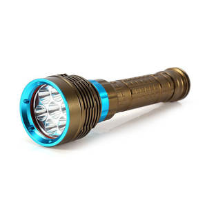 Scuba Diving Flashlight 5000 Lumen Waterproof Underwater L2 LED Diving Torch For Under Water Deep Sea Cave