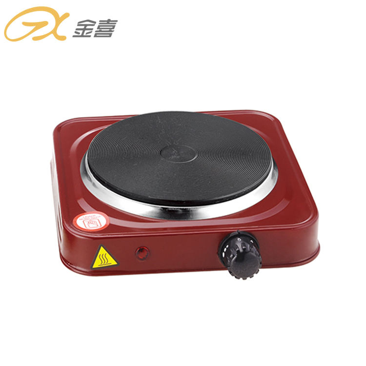 110V 1000 Watt ROHS Certified Single Burner Heavy Duty Table Top Seal Hot Selling Cooking Stove Hot Plate