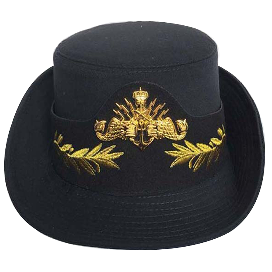Black Chauffeurs Hat Driver Limousine Stag Costume Hen Accessory Dads Taxi Gift