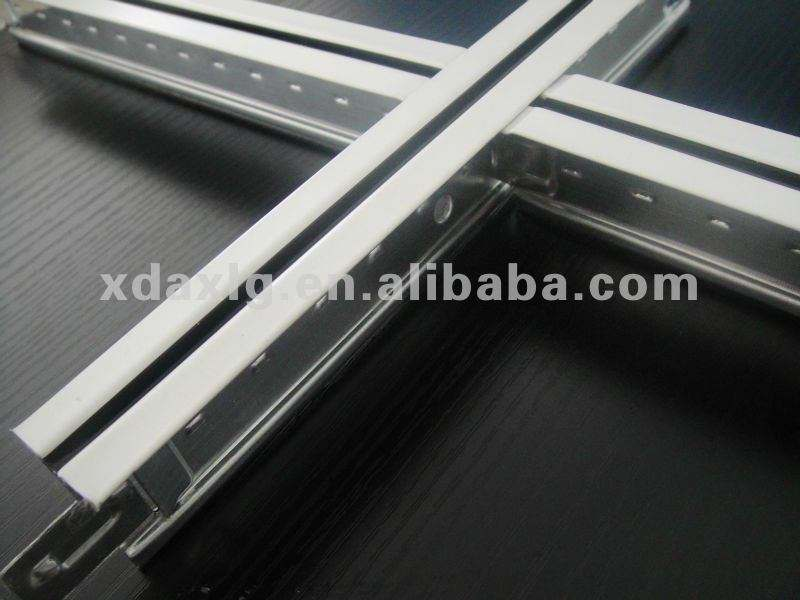 wide -band groove black line/ceeling grid/32mm height/t-bar ceiling tile