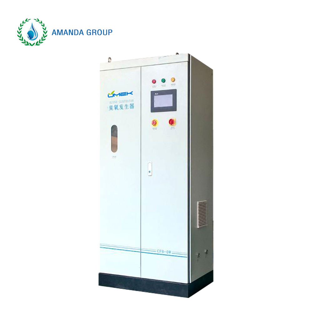 industrial ozone generator for well water treatment