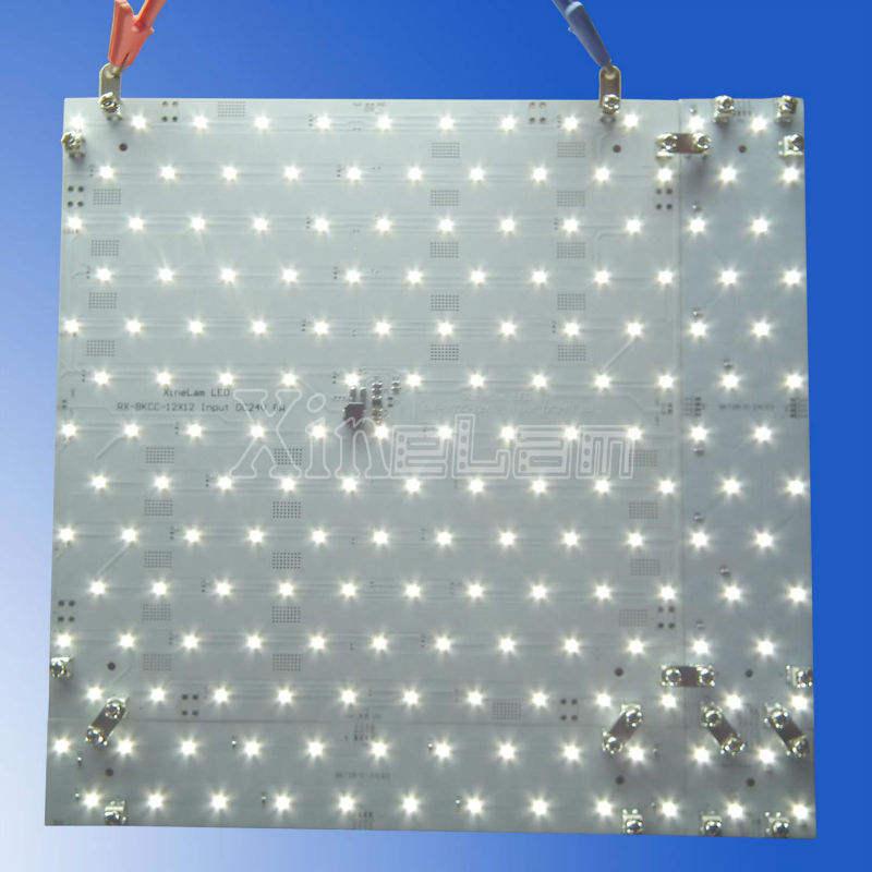 montaje rápido y el brillo de la publicidad smd led del módulo de luz de fondo