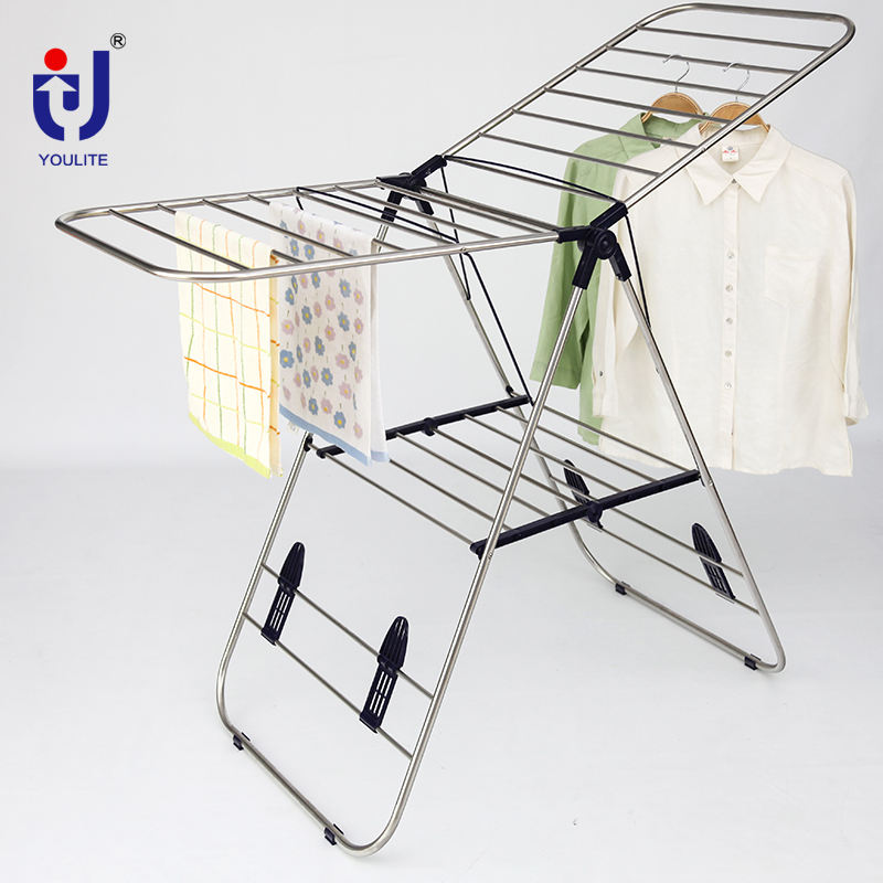 산업 storage foldable 옷 걸 drying 랙