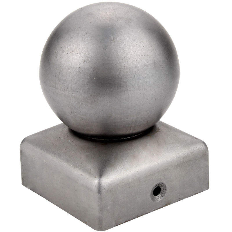 fence manufacturer metal ball post cap galvanized