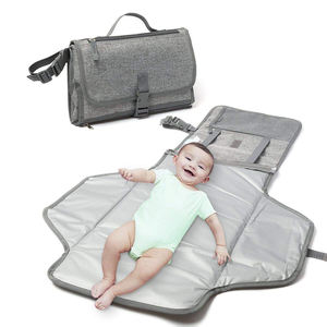 Portable Baby Changing Pad Diaper Changing Mat Travel Clutch Bag