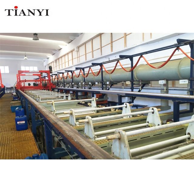 Auto Manual Cathode Galvanizing Electroplating Machine line for Metal Bolts