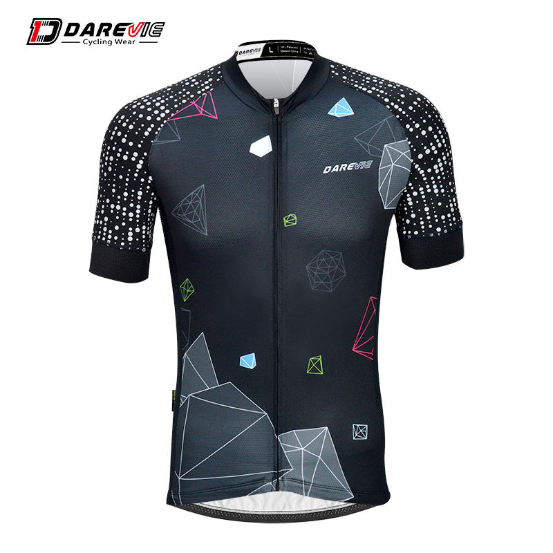 Camiseta de ciclismo reflexiva personalizada darevie pro team/outdoor sport wear
