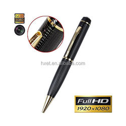 hidden spy pen wifi ip camera, 360 degree full 1080p hd pen spy camera with gift box