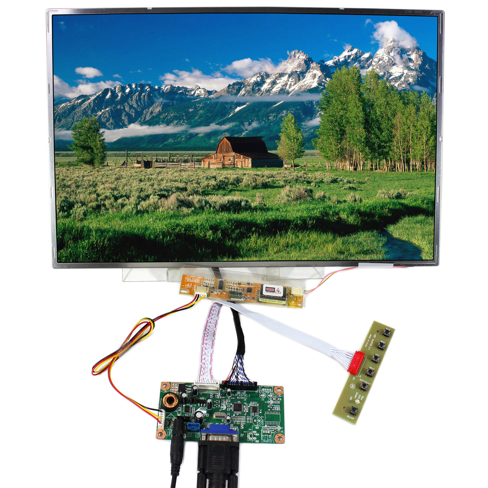 Applicable for HSD123IPW1-A00 LCD HDMI Driver Board Kit 1920X720
