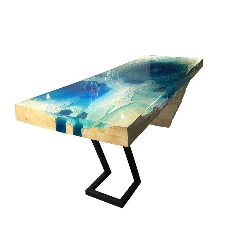 DIY resin river table liquid clear epoxy casting resin table top glue for sale