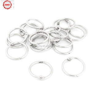 Rising Stationery Staple Book Binder Loose Rings Keyring/Keyring Split Ring