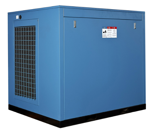 10 bar air cooling screw air compressor