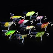 5.5g 4cm Cicadas and cicadas imitate insects Hard Floating Popper Fishing lifelike Lure fishing lures fishing gear