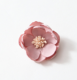 NEW Unfinished Peony Flower - Fabric Flower -- DIY - Flower Flat back FW040