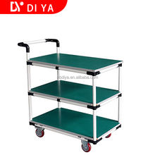 DY60 Logistic and Workshop hand push cart for warehouse for industrial easy pull and assemble