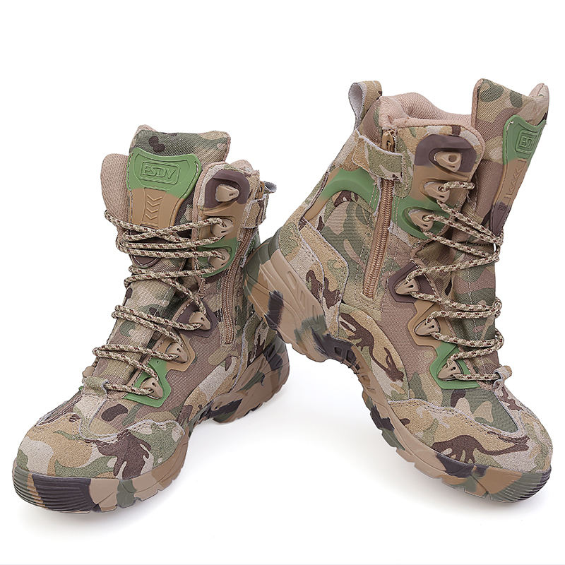 CP camouflage esdy tactical training assault boots army boot