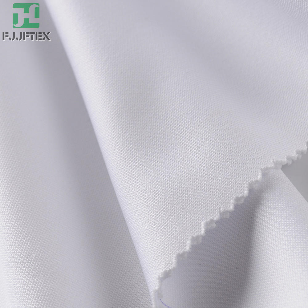 100% Polyester White Sublimation Printed Milk Silk Fabric Sportswear Fabric