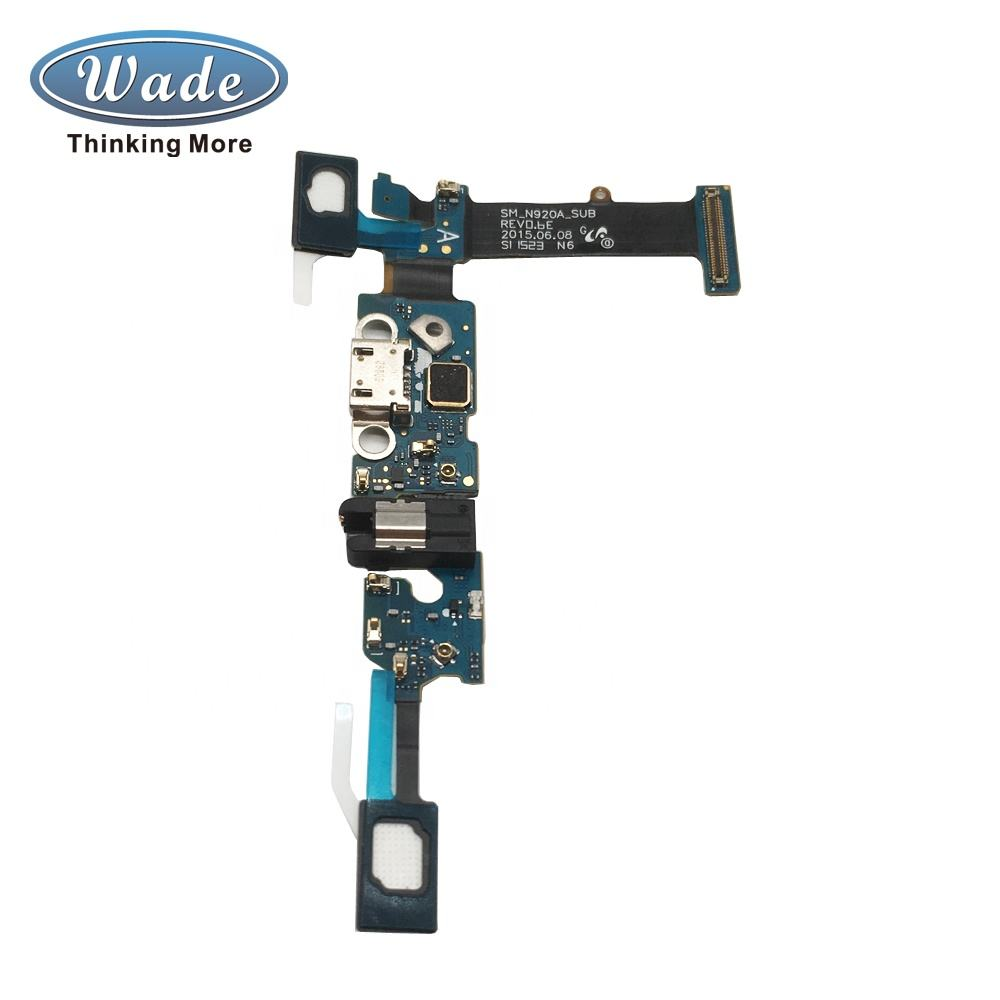 Wadegroup Trade assurance Mobile Phone Charging Port Dock Connector Charger Flex Cable for Samsung Galaxy Note5 N920A
