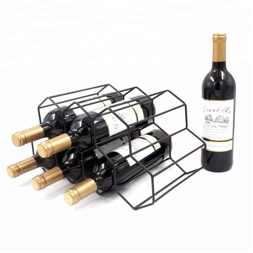 7 Wine Bottle Wine Rack Wine Storage Holder