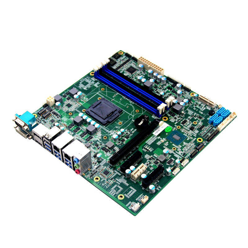 LGA1151 arm bord 4k display mini itx motherboard mit 2 ethernet ports motherboard