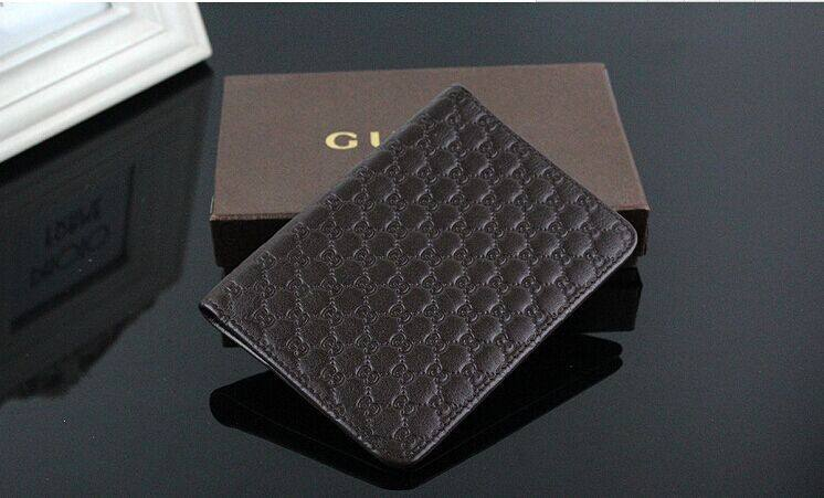 Promotion custom portable black personalized PU Leather passport wallet leather travel case passport holder