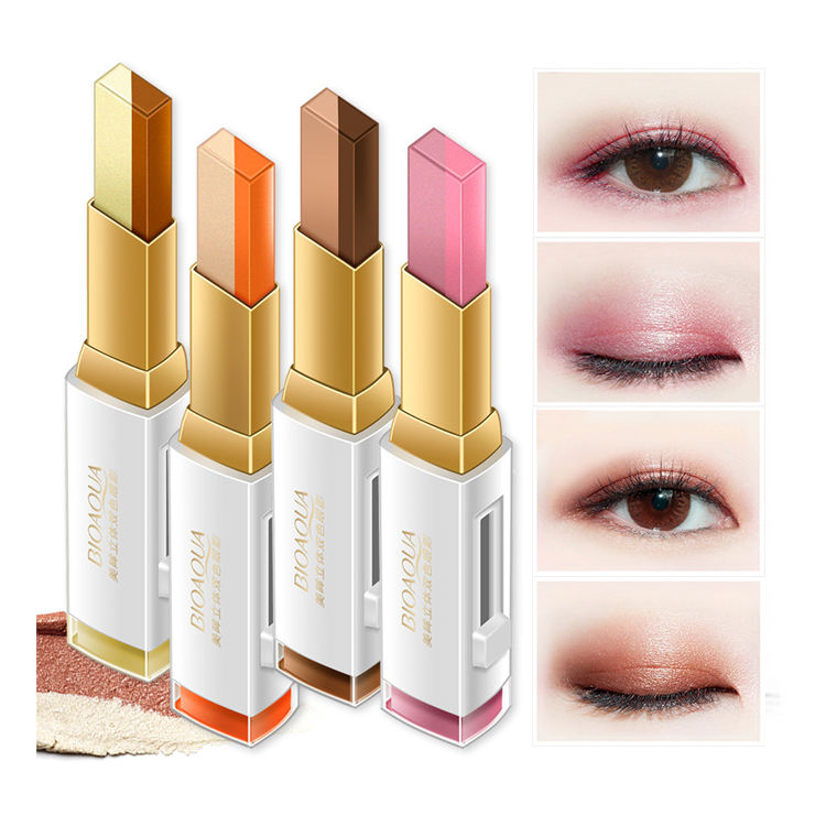 OEM ODM bioaqua beauty product natural shining eyeshadow makeup for female