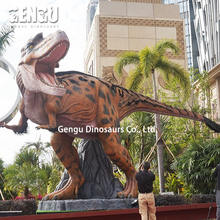 Dinopark equipment simulation t rex fantasia de dinossauro