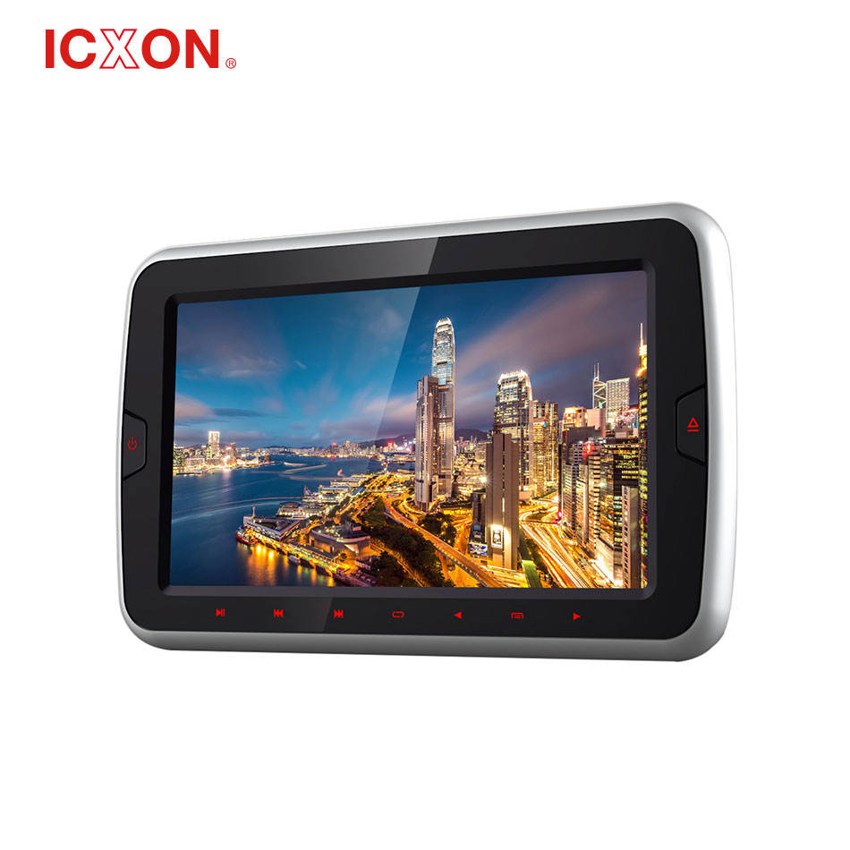 "9 "" super thin high definition car DVD player Clip on the headrest"