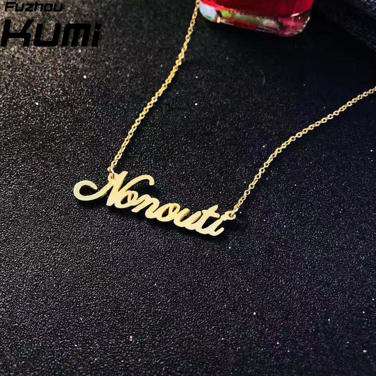 Jewelry manufacturer gold plated solid 925 sterling silver necklace