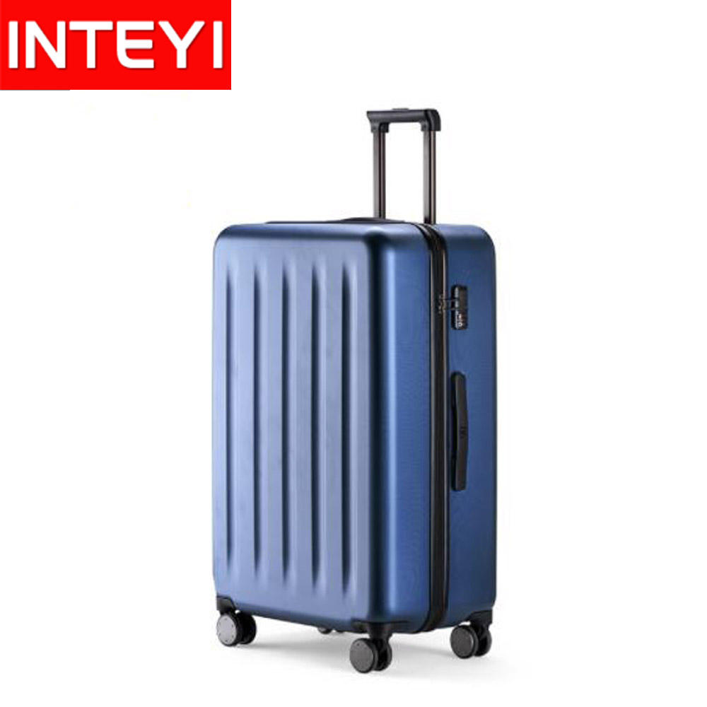 "Xiaomi 90FUN 100% PC valise à main roue Spinner filles voyage <span class=keywords><strong>bagages</strong></span> 20 ""/24""/28"""