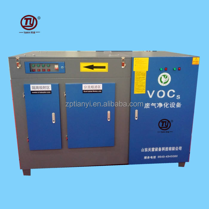 Industrial Toxic Air Cleaning System Waste Gas Disposal