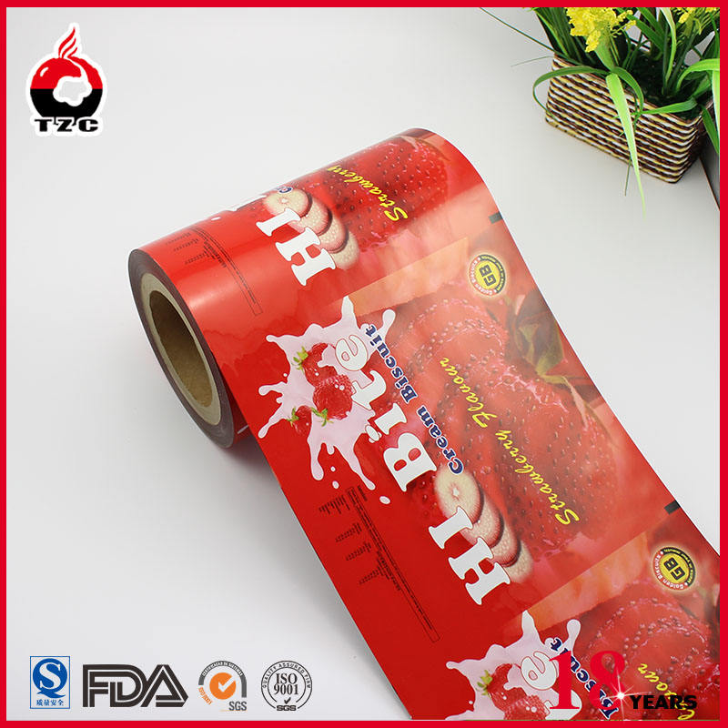 Plastic Packing Film Metalized Foil Film For Snack Chips Dried Nuts Fruits Packaging Plastic Film Rolls