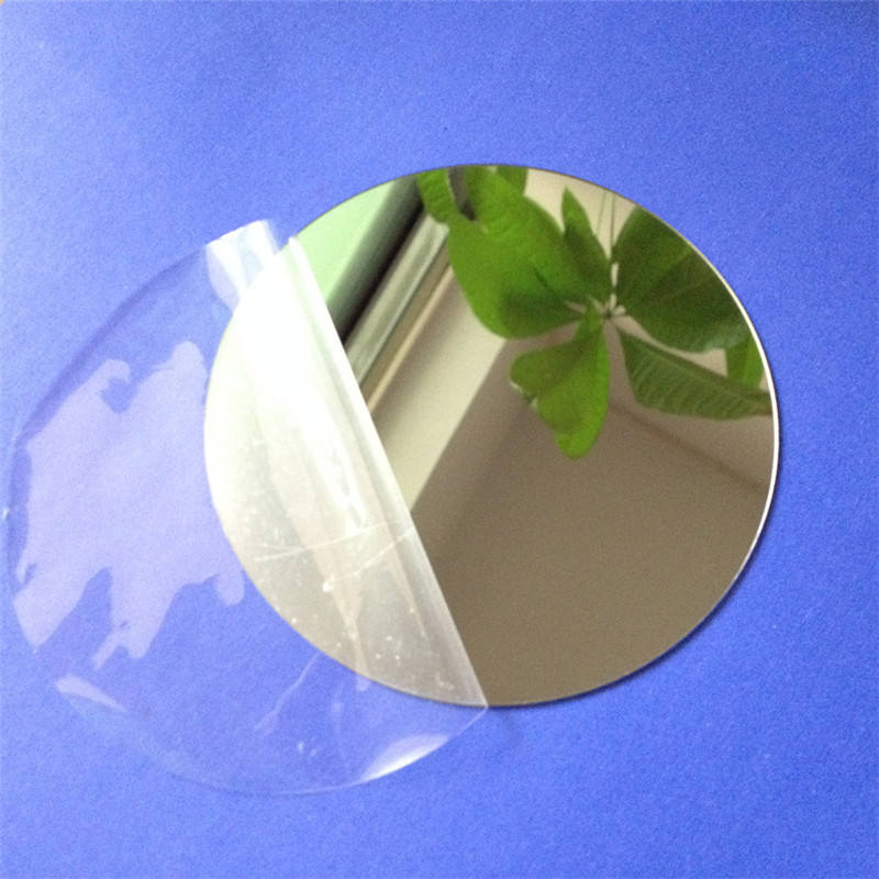 Diameter 100x1mm Thick Acrylic Wall Mirrors Round Sheet Stickers Plastic PMMA Glass Hotel Decorative Lens Miroir Mural DIY Plak