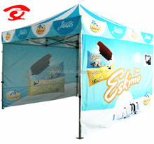 High Effective Strong Trade Show Folding Canopy Pop up Tent With Print