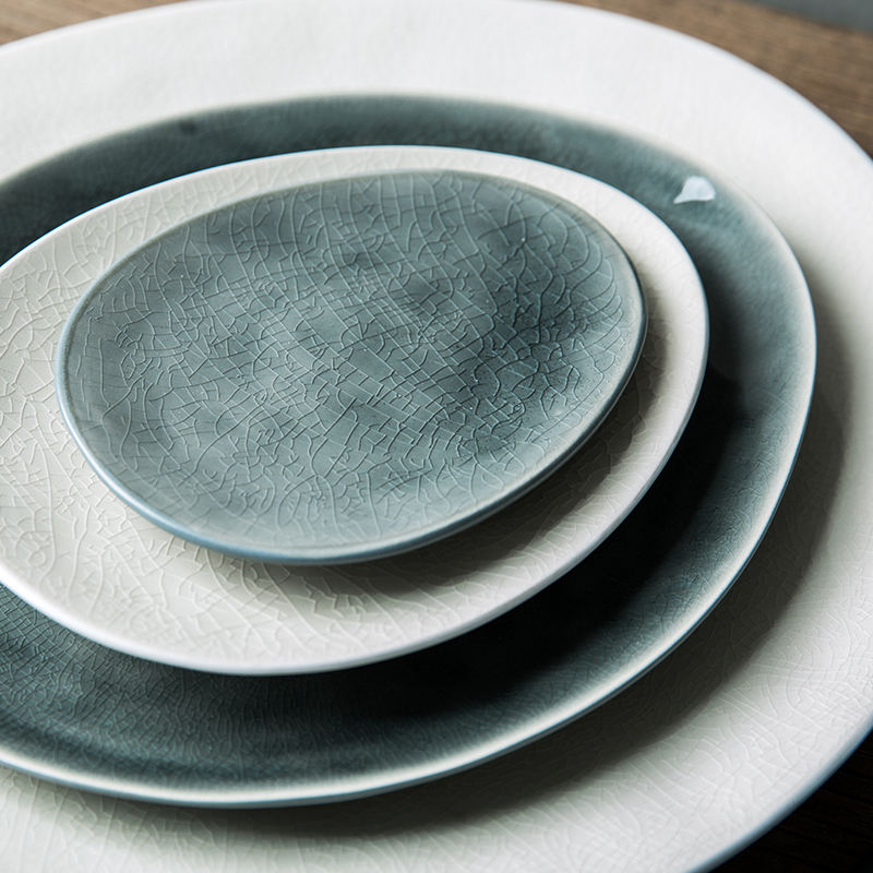 Trendy Modern Style Unique Ceramic Plates