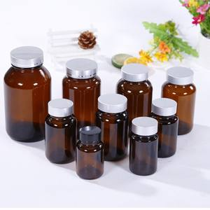 60ml Capsule Food Supplement Drug Vitamins Pill Use Bottle Glass Bottle Wholesale