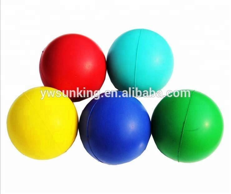 Factory customized PU foam round stress ball