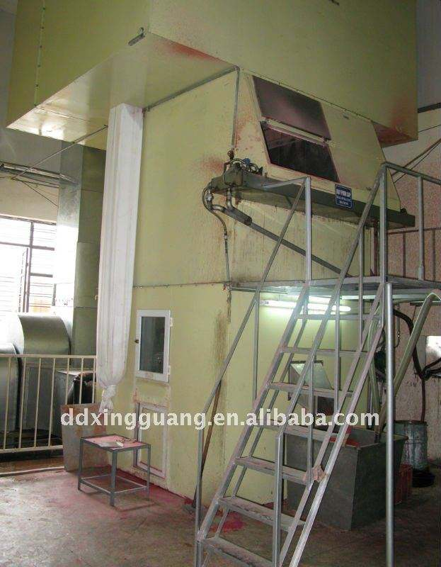 Wax Powder Spraying Machine