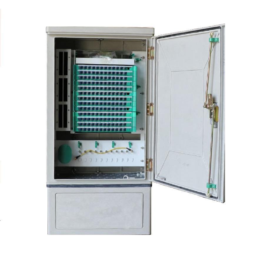 FTTH Splice 144 288 port optical distribution frame SMC Outdoor odf fiber optic cross connect cabinet
