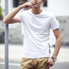Chinese Clothing Manufacturers Men's t shirts Bulk Buy From China Men's White Plain Blank Cotton tee shirt t shirts