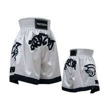 wholesale muay thai boxing shorts custom 100  polyester blank  Elastic fight shorts