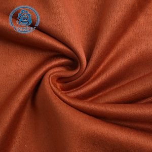 2019 The Most Popular 100% Polyester 220gsm French Terry 니트 Suede Fabric 대 한 Garment