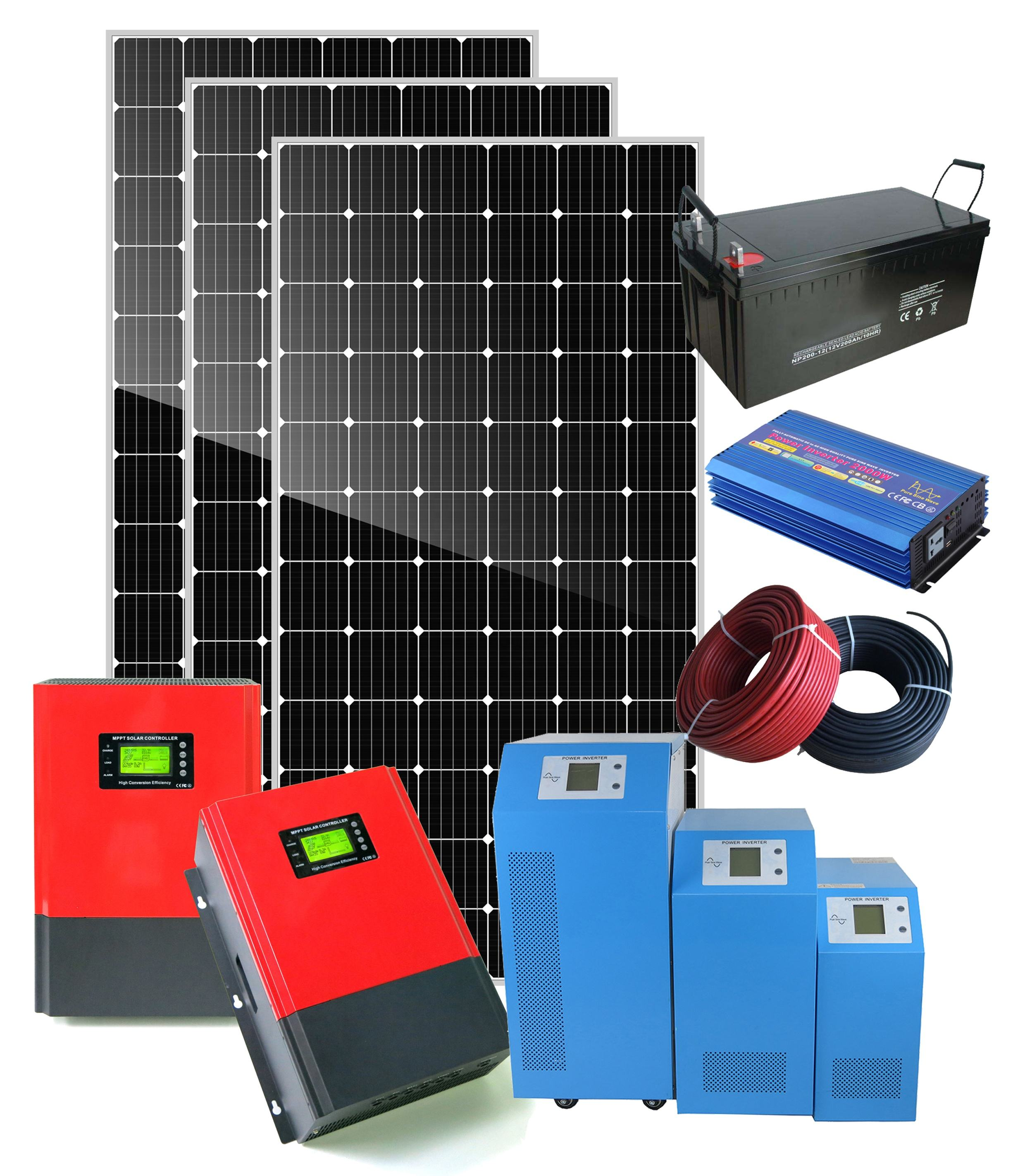 off grid 50kw 30kw solar panel power system 20kw solar energy system for commercial
