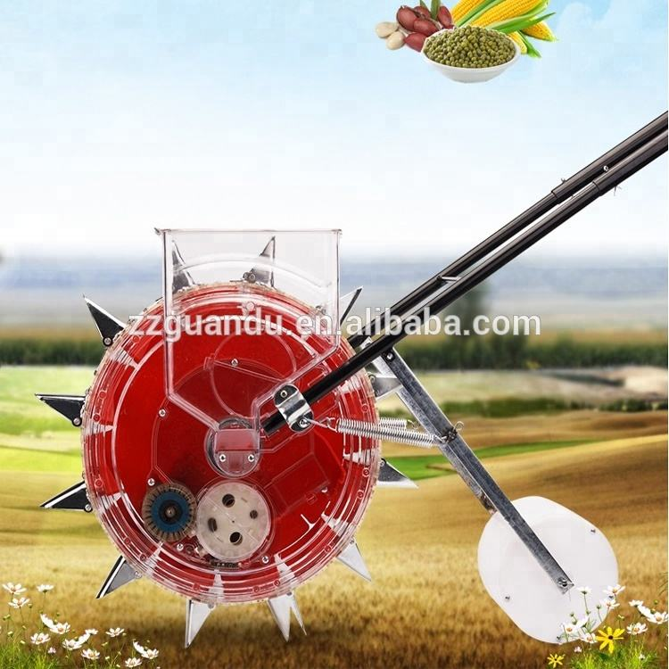 Manual maize corn planter machine / seed sowing machinery for many seeds