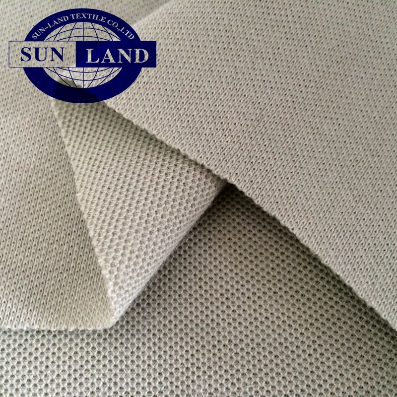 OEM make-to-order 2019 HOTSALE weft knit 100 cotton knit pique fabric for polo casual shirt and workwear