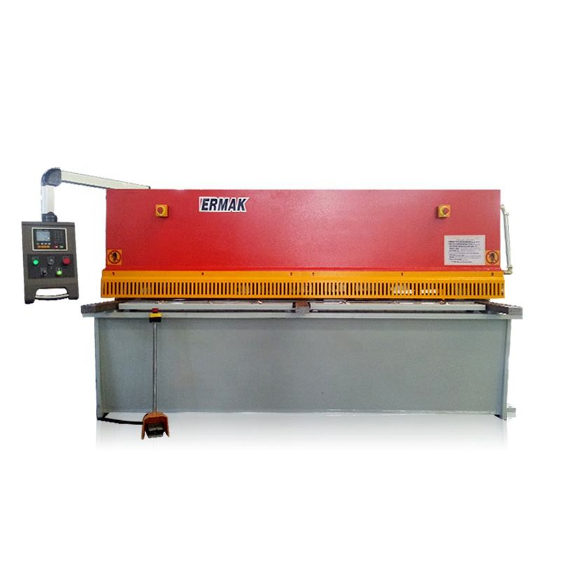 QC12Y-4X2000 types of shearing machine hand guillotine shear small motor driven hydraulic sheet metal shearing machine