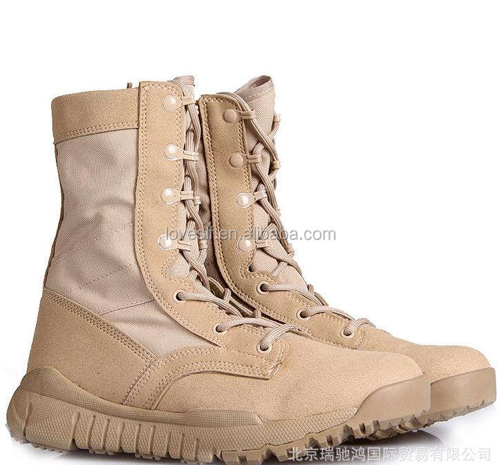 Loveslf army boots safety and comfortable best price and high quality combat boots